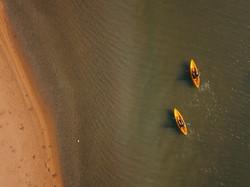 Kayak Kappalady Lagoon Sri Lanka