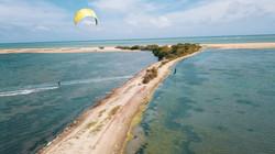 Kitesurfing during Covid 19 in Sri Lanka