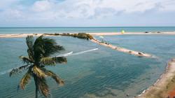 Kitesurfing Sri Lanka Kappalady Lagoon Elements Resort
