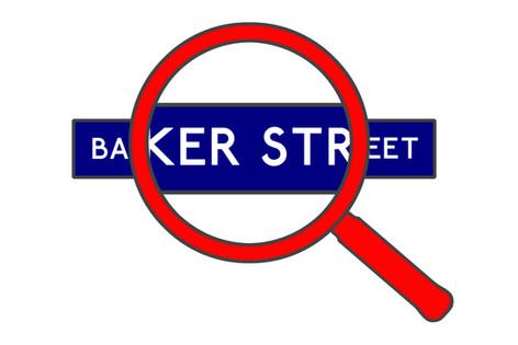 Baker Street Tube Sign