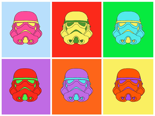 Trooping the Colour - A3 Print (Star Wars)