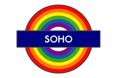 Soho Tube Sign