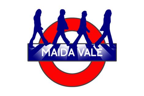 Maida Vale Tube Sign