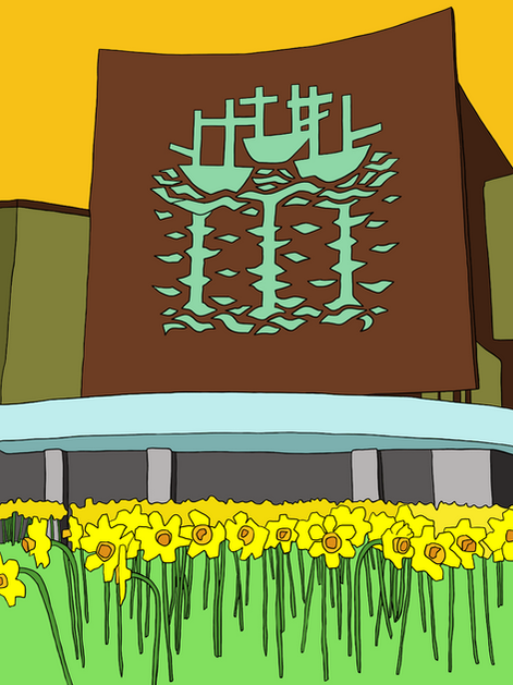 Flower Power - BHS Building (Hull)