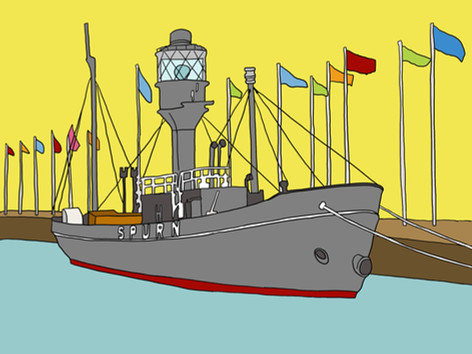 There Is A Light That Never Goes Out - Spurn Lightship (Hull)