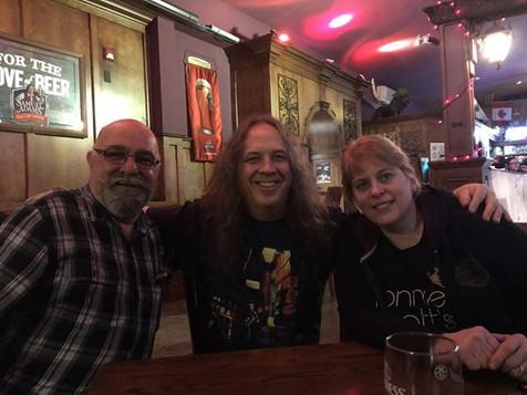 Robert Auger, John McGale, et Chantal Marie, Montréal, 2015