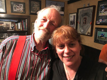 Valdy and Chantal Marie at the private concert at DanLyn Studios, Sherwood Park, AB - October 11, 2019