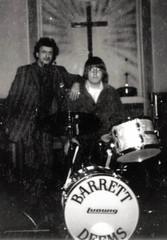 "Barrett Deems and Jeff ""JJ"" Lisk, Chicago, IL, 1976"