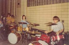 Tom Zuponek and Jeff JJ Lisk, St. Benedict High School Concert, 1976