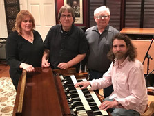 Chantal Marie, JJ, Martin Collins, and Graham Guest