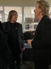 Jeff JJ Lisk and Jack Semple, Festival Place, Jan 17, 2020