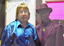 Jeff JJ Lisk & Texas Johnny Brown, at the Yardbird Suite  Edmonton - June 2004