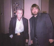 "Barrett Deems and Jeff ""JJ"" Lisk, Madison, WI, Jazz Society, 1998"