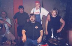 Tawl Paul recording session at Misunderstudio, Murphysboro, IL, 2000