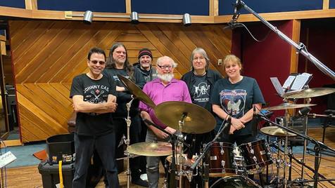 Le groupe de mercredi : Réal,Nik,Humbert, Martin, JJ, et Chantal