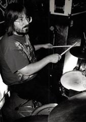 "Jeff ""JJ"" Lisk at the Anchor Inn, Madison, WI, 1997"