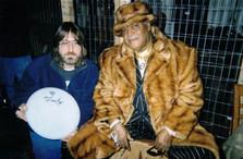 "Jeff ""JJ"" Lisk and Sam Lay (Blues drumming great - Howlin' Wolf, Bob Dylan, Siegel-Schwall, etc.), Wausau, WI, 2001"