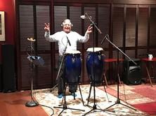 "Percussionist ""extraordinaire"" Tilo Paiz!"