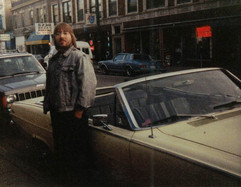 """Jeff """"JJ"""" Lisk, Clark Street near Foster Avenue, Chicago, IL, 1999"""