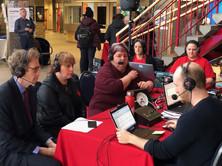 Entrevue avec François Joly pour l'Émission » La Croisée » sur Radio-Canada en direct du 6ème Francothon à Edmonton. Avec Guillaume Tardif, Chantal Marie et avec la directrice générale du RAFA Sylvie Thériault.