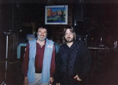 "Jim Schwall (Siegel-Schwall Blues Band) and Jeff ""JJ"" Lisk, Green Bay, WI, 1993"