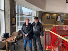 Chantal Marie et Robert Auger à la Cité Francophone, Edmonton, AB