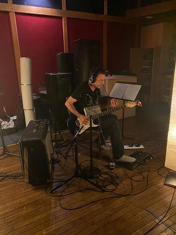 Le guitariste Réal Fagnan