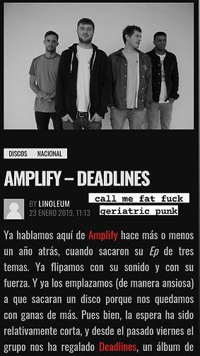 Amplify _Deadlines_