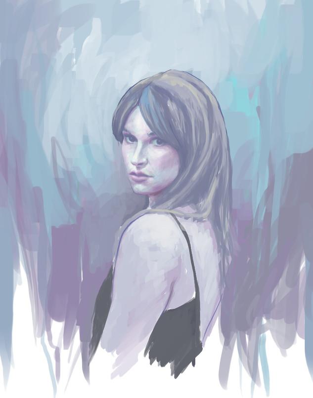 Digital Portrait sketch