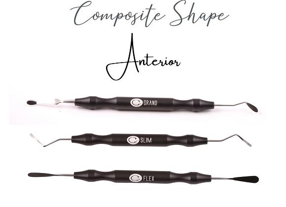 Kit de Espátulas Composite Shape  - Linha Anterior