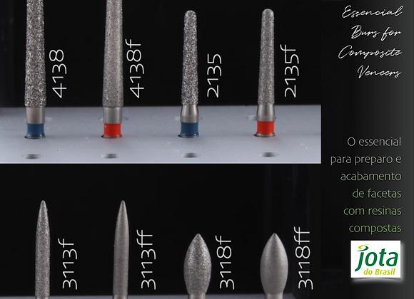 Kit Essencial Burs for Composite Veneers
