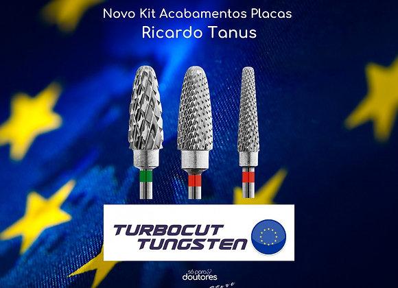 Kit Ricardo Tanus 2- Brocas Turbocut