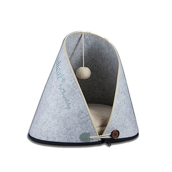 Eco-Friendly Cueva De Gato Design Cat House & Bed
