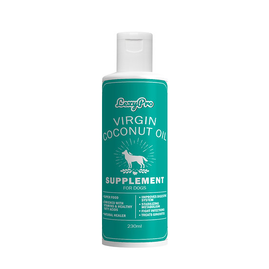 LexyPro Dog Virgin Coconut Oil - Supplement- 230ml