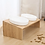 Thumbnail: Classic Bamboo Stand With Two Ceramic Pet Bowl