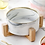Thumbnail: Japanese Design Marbel Bowl with Wooden Frame