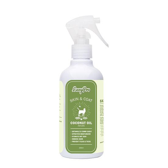 LexyPro Cat Skin & Coat Spray- Coconut Oil - 300ml