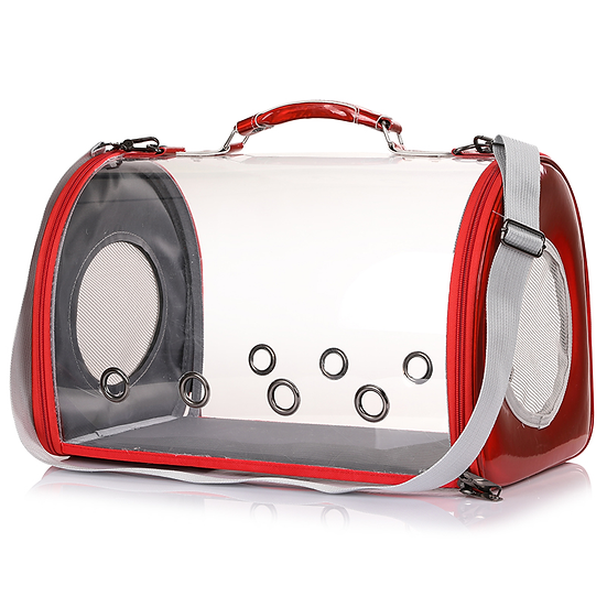 Panoramic Transparent Pet Travel Backpack Bag