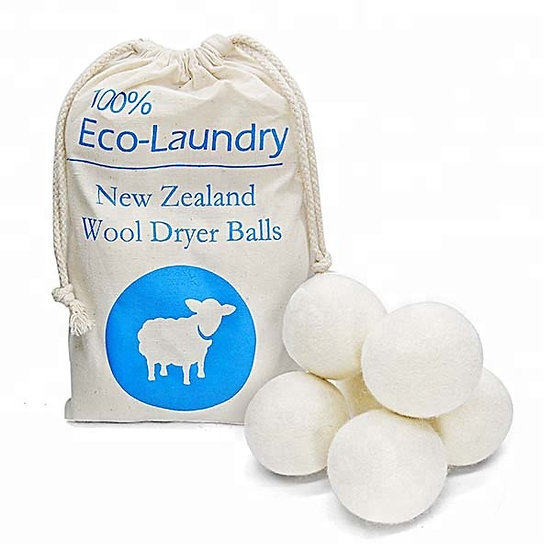 100% Wool Cotton Laundry Dryer Balls