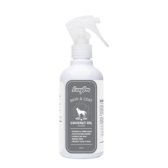 LexyPro Dog Skin & Coat Spray- Coconut Oil - 300ml