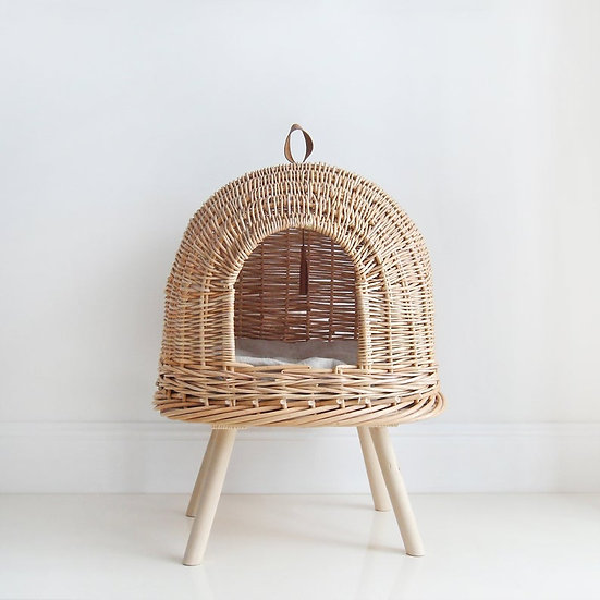Handmade Rattan Cat House