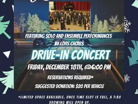 Wassail Concert🎶, Drive-In style!📽