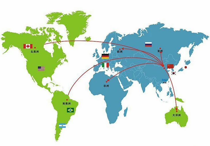 Conscientia Industrial has established partnerships all over the world