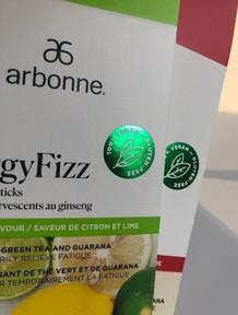 metallic green foil stamp