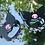 Thumbnail: Kuromi (Sanrio) Earrings