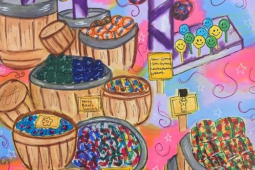 """Candy Dream"" - Framed"