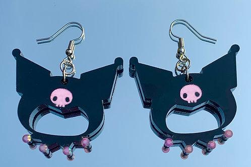 Kuromi (Sanrio) Earrings