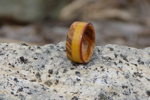 Linen Micarta and Osage Orange Ring