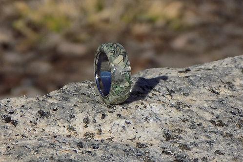 Glow Cash Resin Ring