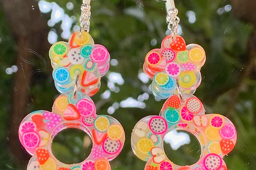 Fruit Flower Earrings